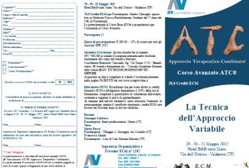 Corso Avanzato ATC® – La Tecnica dell'Approccio Variabile