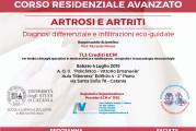 Corso Residenziale Avanzato – Artrosi e Artriti. Diagnosi differenziale e infiltrazioni eco-guidate