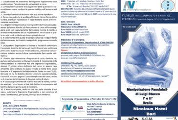 Manipolazione fasciale di Luigi Stecco – I e II livello