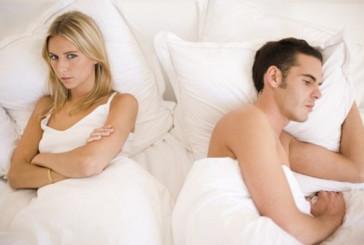 Uomini, sesso KO con troppo esercizio fisico