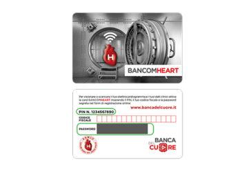 Arriva 'BancomHeart', una card che contiene tutti i dati sulla salute del cuore