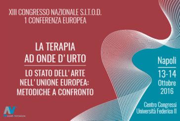 A Napoli il 13° Congresso della Società Italiana Terapia con Onde d'Urto (SITOD)