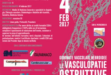 Giornate Vascolari Nebroidee: Le vasculopatie ostruttive degli arti inferiori