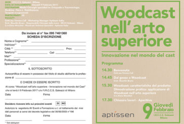 Woodcast nell'arto superiore