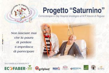 """Il """"Progetto Saturnino"""" entra ufficialmente nel reparto di Day Hospital oncologico dell'Ospedale """"Maria Paternò Arezzo"""" di Ragusa Ibla."""