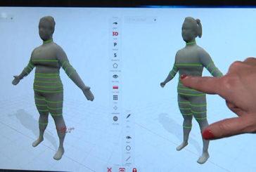 Usa, dimagrire in palestra con immagine 3D del corpo