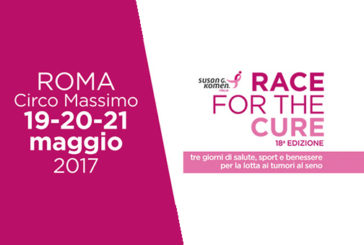 Race for the cure, la corsa rosa contro il tumore al seno