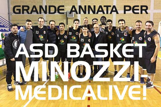 Grande annata per ASD Basket Minozzi - Medic@live!