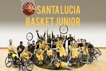 S. Lucia Basket Junior, avvicinare giovani con disabilità al basket in carrozzina