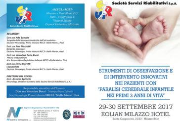 """Strumenti di Osservazione e di intervento innovativi nei pazienti con """"Paralisi cerebrale infantile"""" nei primi 3 anni di vita"""