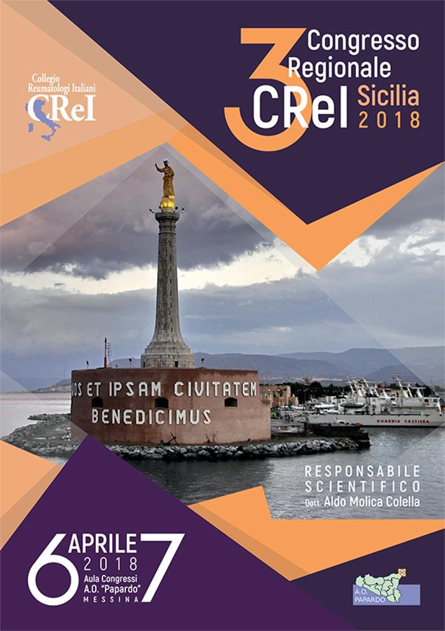 3° Congresso Regionale CReI Sicilia 2018 – 6-7 Aprile 2018 Messina