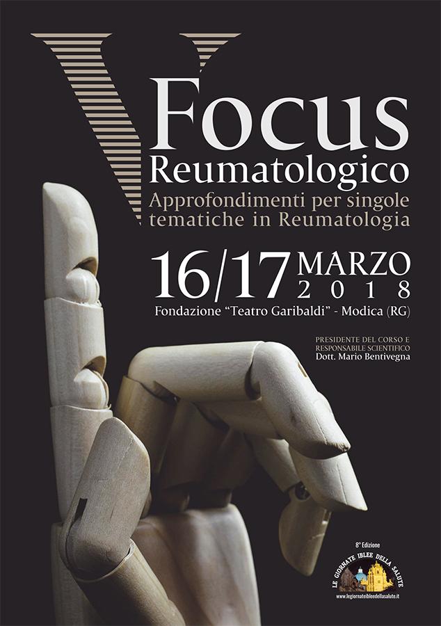 5° Focus Reumatologico – Approfondimenti per singole tematiche in Reumatologia