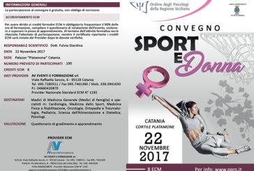 Convegno Sport e Donna