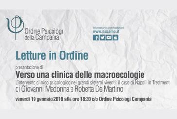 """Napoli, presentazione di """"Verso una clinica delle macroecologie"""""""