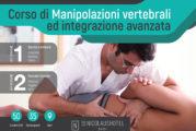 Corso di Manipolazioni Vertebrali ed integrazione avanzata – Bari
