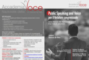 Public Speaking and Voice per il relatore congressuale
