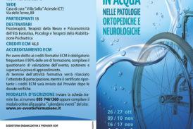 Corso introduttivo alla riabilitazione in acqua nelle patologie ortopediche e neurologiche