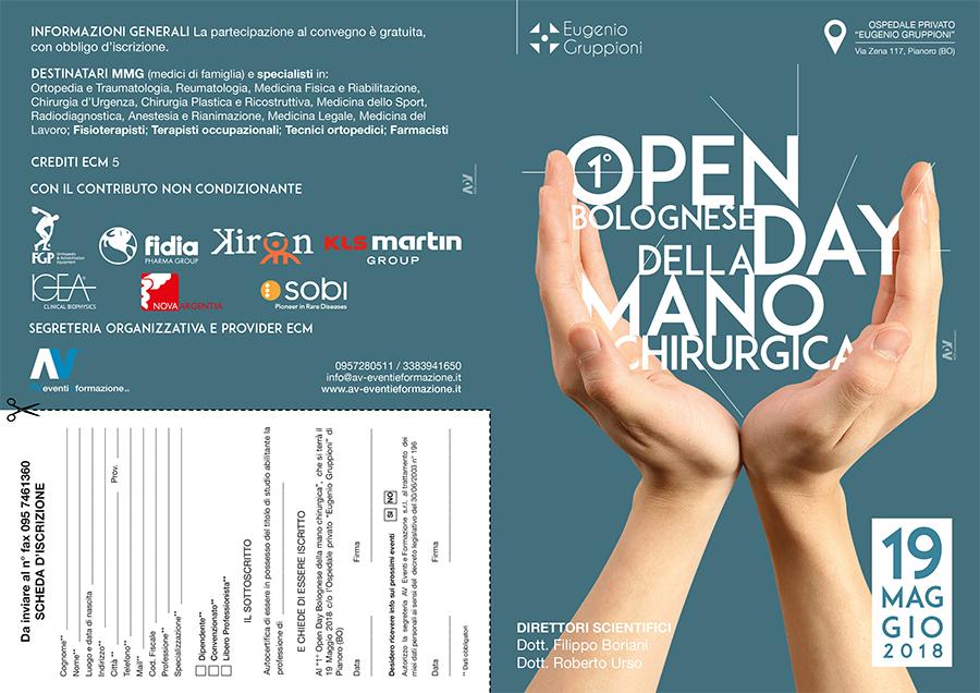 1° Open Day Bolognese della mano chirurgica