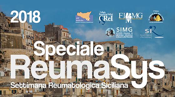 Speciale REUMASYS - Settimana Reumatologica Siciliana 2018