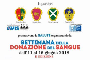"""Arezzo, il mondo della Giostra si """"sfida"""" a colpi di generosità"""
