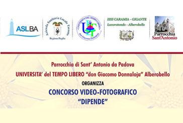 """Puglia, Concorso giovanile video – fotografico """"Dipende"""""""