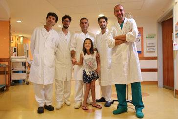 Meyer: Ricostruzione intestinale a bambina brasiliana