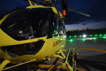 """Grande efficienza del sistema dell'emergenza """"su gomma"""" e dell'elisoccorso notturno"""