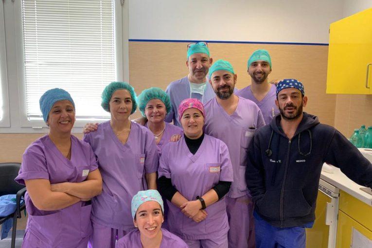 Intervento di Chirurgia senologica ricostruttiva al San Martino