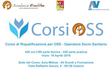 Corso di riqualicazione per OSS – Operatore Socio Sanitario