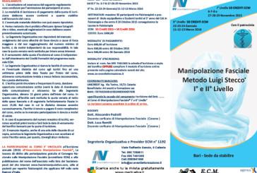 Corso di Manipolazione Fasciale ®: Metodo L. Stecco I° e II° Livello
