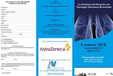 La Gestione del Paziente con Patologia Ostruttiva Bronchiale