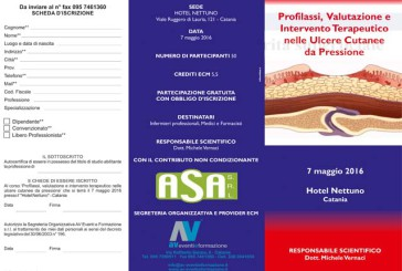 Profilassi, Valutazione e Intervento Terapeutico nelle Ulcere Cutanee da Pressione