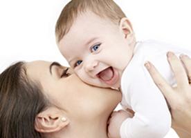 Maggiore sviluppo cerebrale grazie all'amore materno