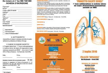 """""""PROGETTO SALUTE SCICLI"""" – 1° focus multidisciplinare in medicina interna: dal respiro all'ipogonadismo ipogonadotropo passando per MRGE"""