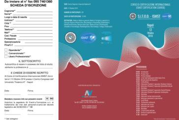 Corso di Certificazione Internazionale ISMST