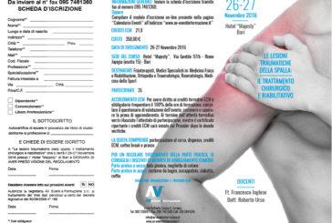 Le lesioni traumatiche della spalla: il trattamento chirurgico e riabilitativo
