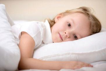 Bambini a letto presto per una migliore salute futura