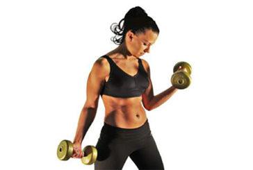 Per 'farsi i muscoli' bastano pesi leggeri