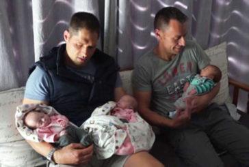 In Sudafrica nati tre gemelli con dna di coppia di papà