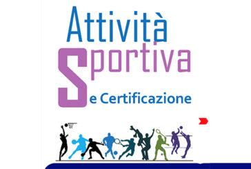 """ASP: un opuscolo per """"attività sportiva e certificazione"""""""