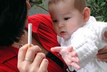 Un bimbo su 5 cresce in luoghi in cui si fuma