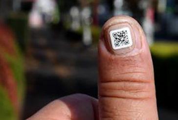 In Giappone codice a barre su unghia per anziani con demenza