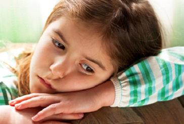2/3 bambini 10-11 anni afflitti da ansie e preoccupazioni
