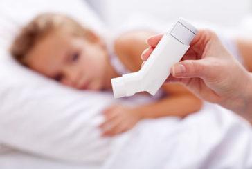 Doppio rischio obesità per bimbi con asma se non trattati
