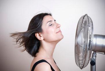 Vampate di calore frequenti sono segno del rischio cuore