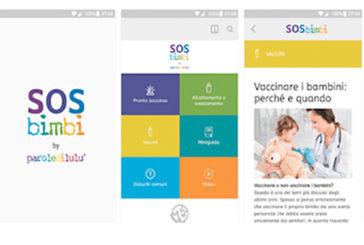 Sos bimbi, l'app di primo soccorso pediatrico