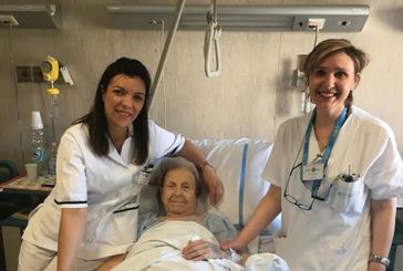Napoli, a 102 anni viene operata al femore e dimessa dopo 5 giorni