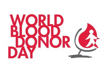 Oggi, 14 giugno, è la Giornata Mondiale del donatore di sangue