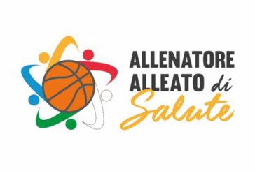 Al via la campagna 'Allenatore alleato di salute basket'