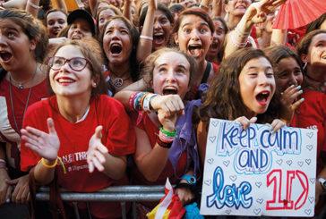 Teenager urla al concerto dei One Direction e provoca collasso polmonare
